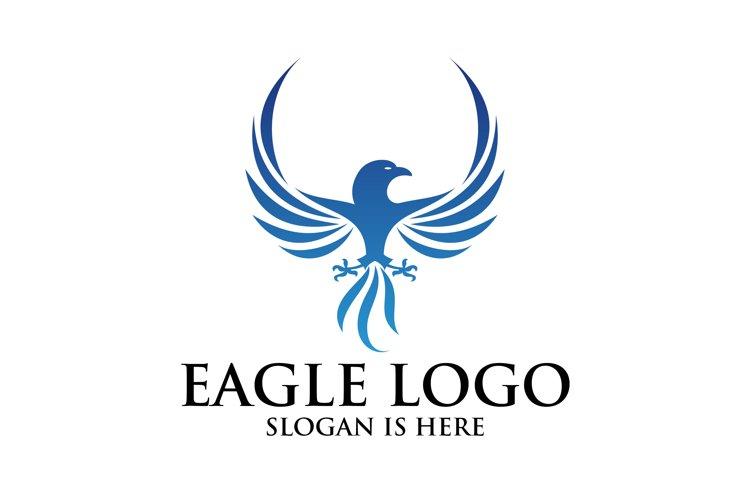 Eagle logo, Flying Logo Illustation example image 1
