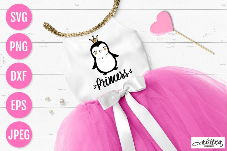 Penguin SVG, Princess SVG, baby designs, cute animals