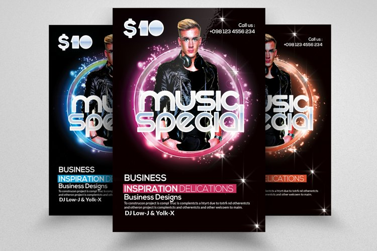 Music Dj Night Flyer example image 1