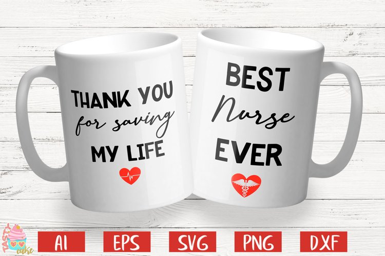 Thank You For Saving My Life - Best Nurse Ever example image 1