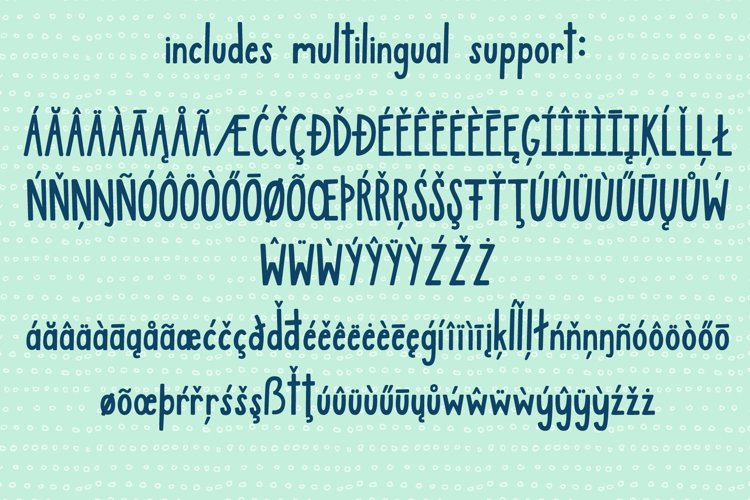 Jamberry Font example 8