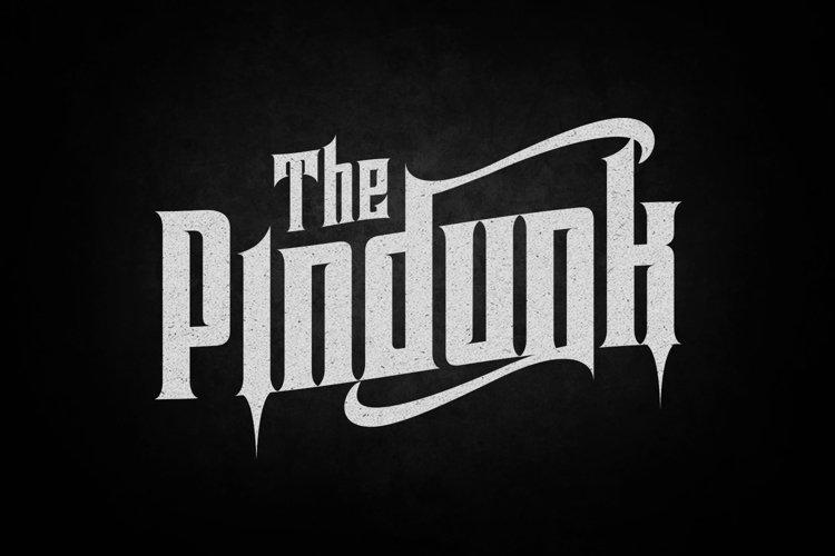 Pindunk Typeface - Free Font of The Week Font