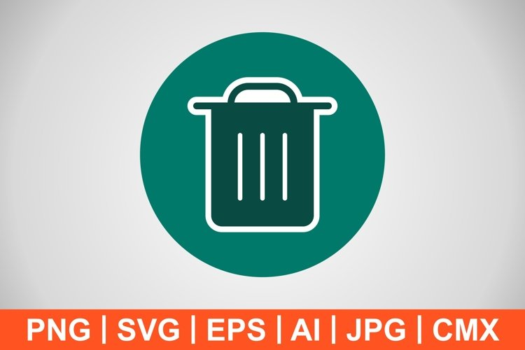 Vector Garbage Icon example image 1