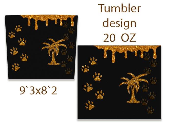 Tumbler Design. Sublimation Design. PNG