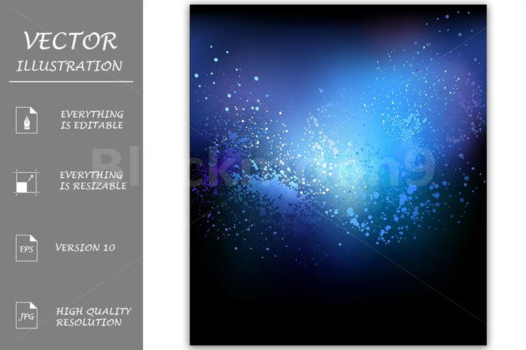 Blue Abstract Background example image 1