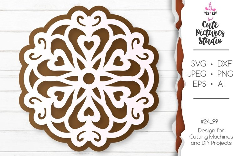Christmas gingerbread set of Cricut SVG file, Gift tag svg example 2