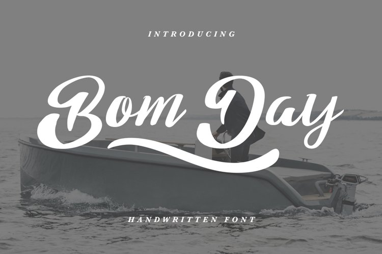 Bom Day Font example image 1
