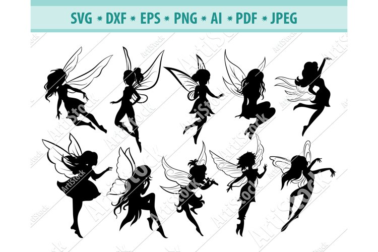 FAIRY SVG, Tooth fairy svg, Fairy clipart Svg, Dxf, Png, Eps