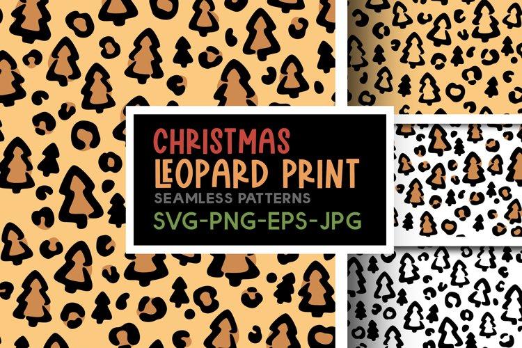 Christmas leopard print svg Cheetah print svg Funny print