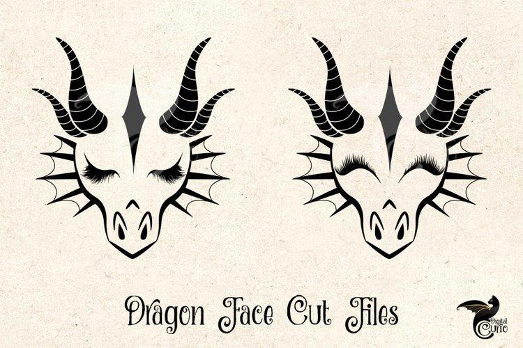 Dragon Face Cut Files