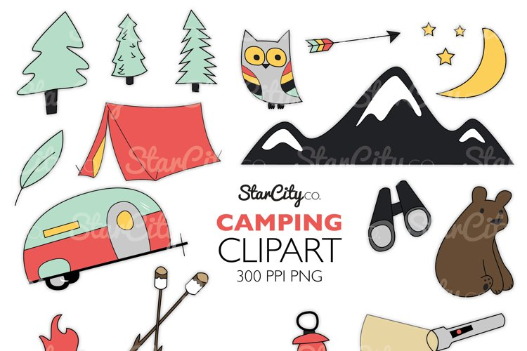 Camping Clipart graphics