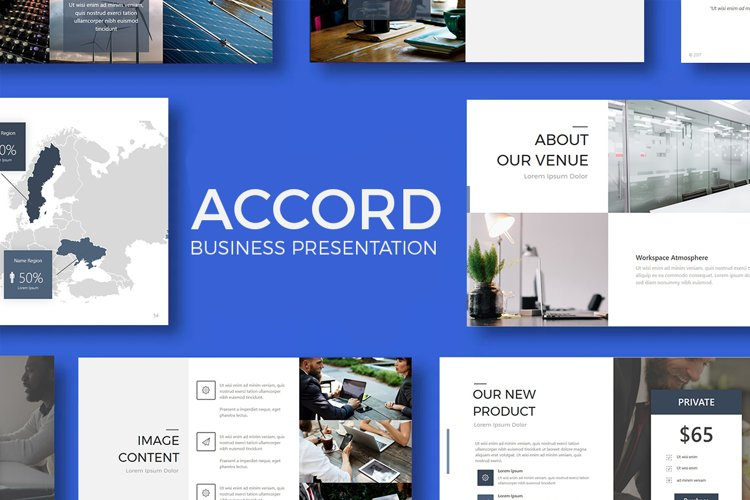 Accord - Business Presentation example image 1