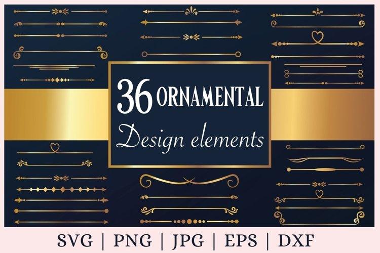 Download Gold Text Divider Svg Decorative Elements Svg Border Svg 1154546 Cut Files Design Bundles