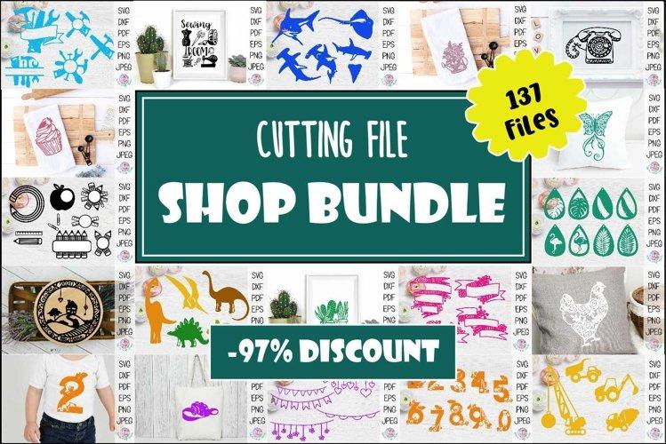 Mega cutting file bundle