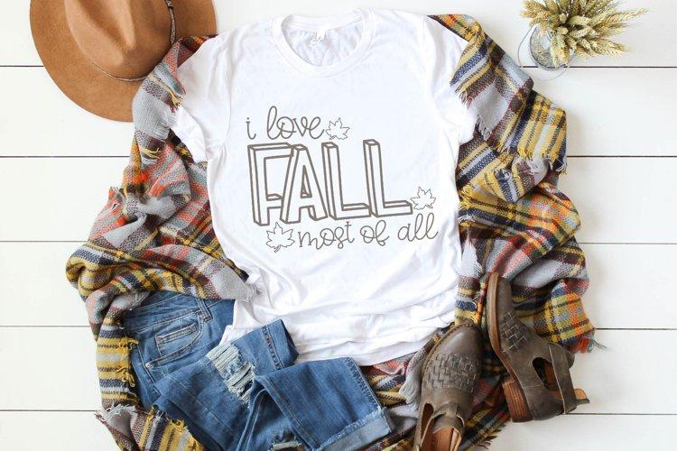 Fall - Halloween - Autumn - Pumpkin Love SVG