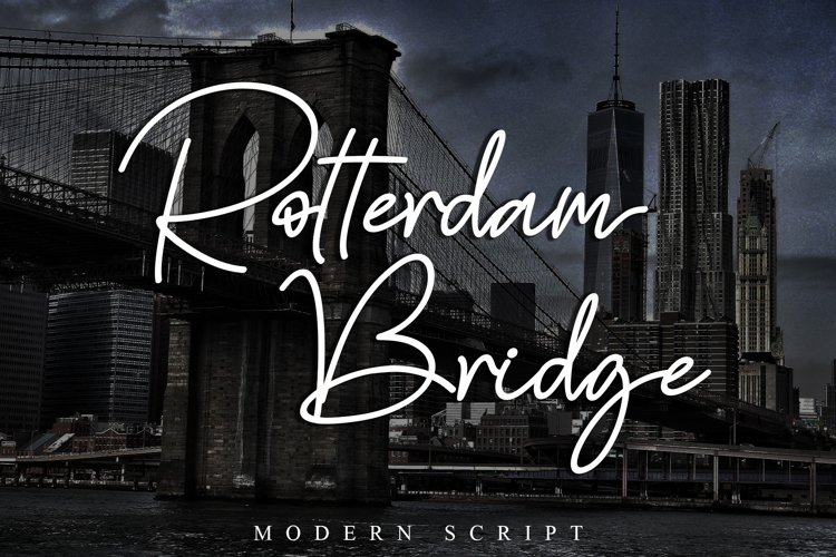 Rotterdam Bridge example image 1