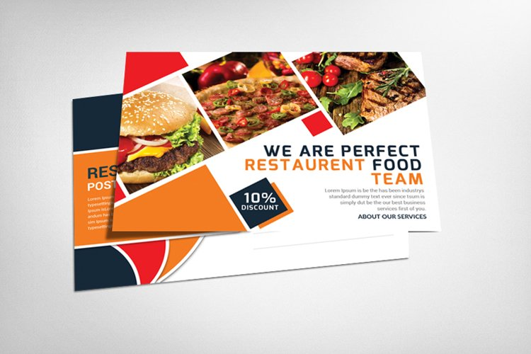 Restaurant Card example image 1