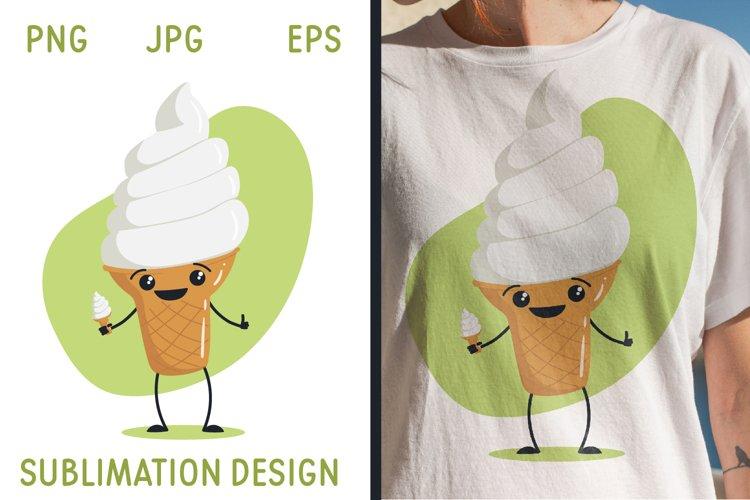 Ice Cream - Sublimation design