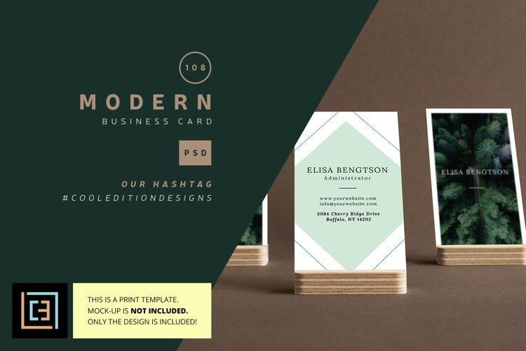 Modern Business Card - BC0108