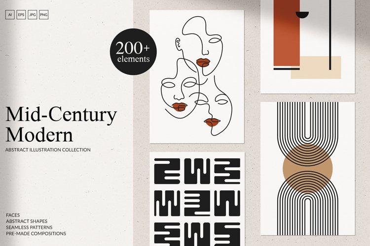 Mid-Century Modern Art Set