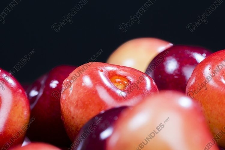 ripe berries of a sweet cherry example image 1