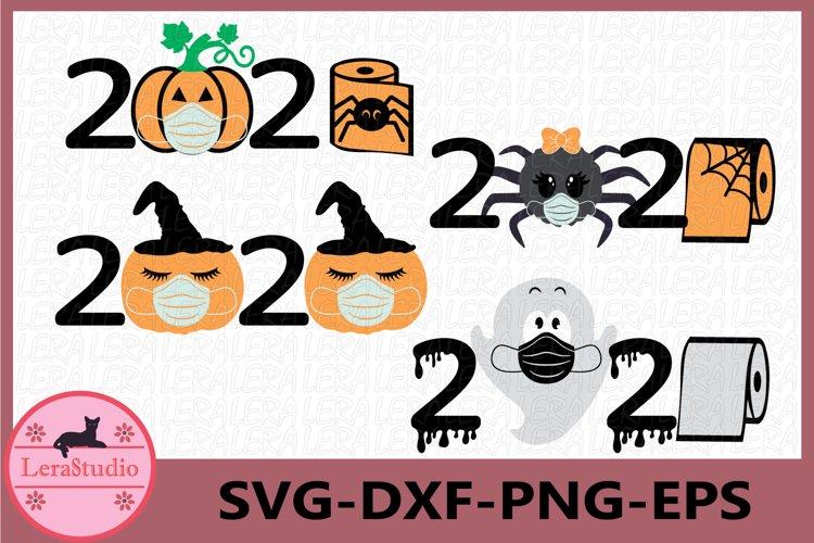 2020 halloween Svg, 2020 mask svg, Medical mask svg example image 1