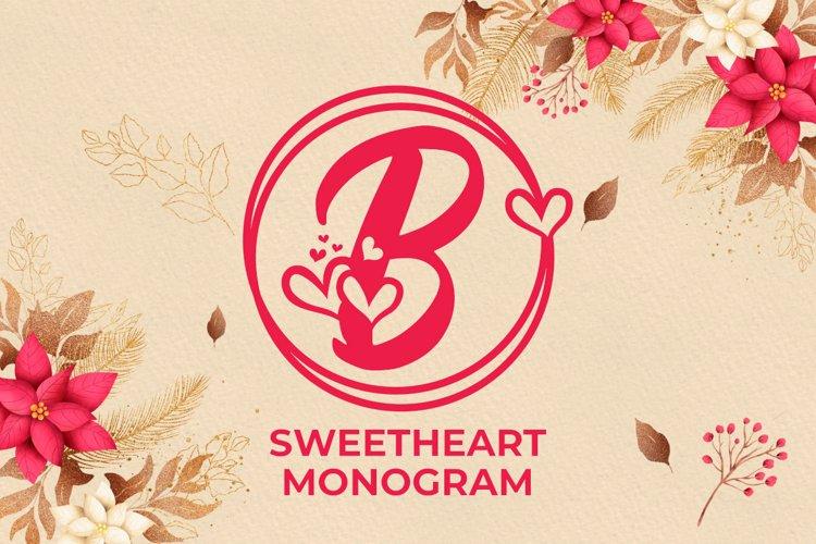 Sweetheart Monogram example image 1