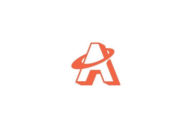 Letter A initial logo design inspiration