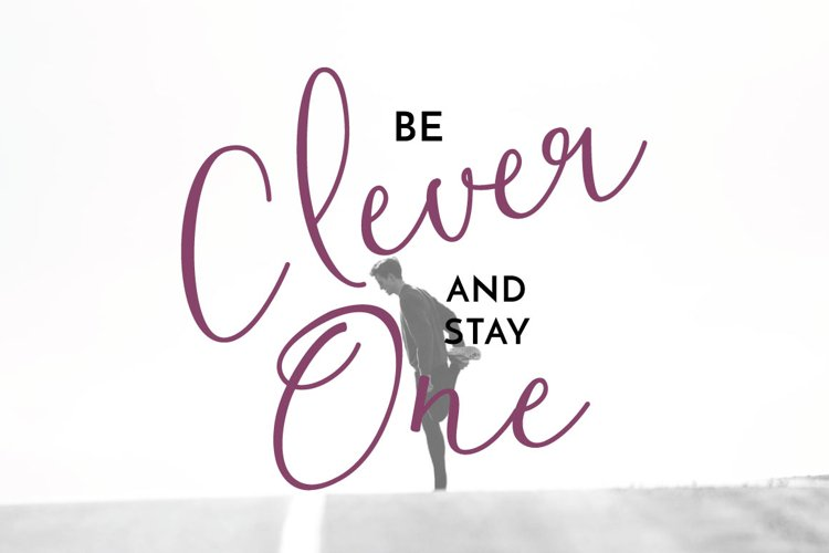 Clover Typeface example 4