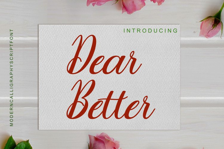 Dear Better example image 1