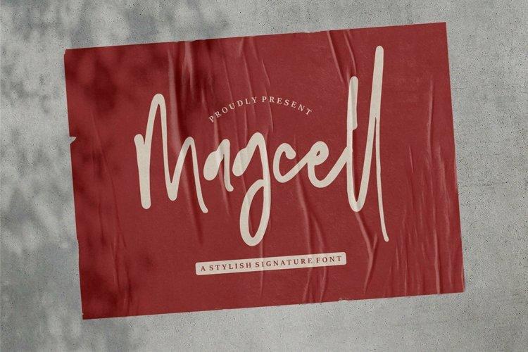 Web Font Magcell - A Stylish Signature Font example image 1