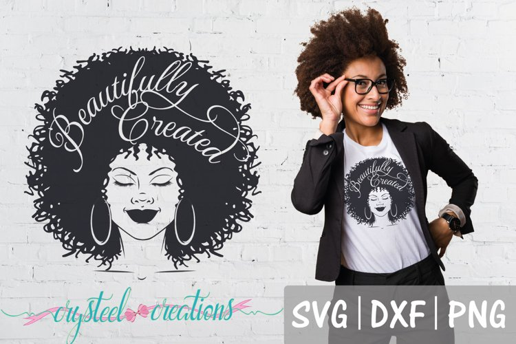 Beautifully Created Afro SVG, DXF, PNG example image 1