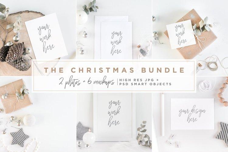 The Christmas Bundle - Mockups example image 1