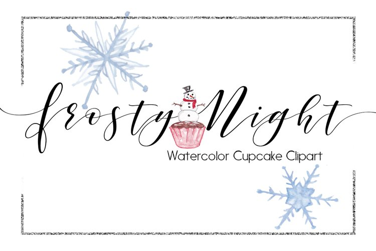 Holiday Clipart-Christmas Clipart-Object Clipart-Watercolor Clipart-Trees Clipart-Planner Clipart-xmas Clipart-Christmas Lights-Cupcake