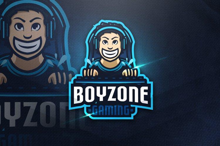 Boyzone Gaming - Mascot Logo example image 1