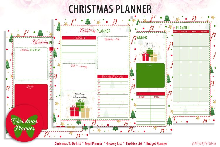 Christmas Holiday Planner 1