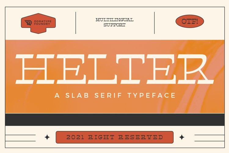 Helter Slab-Serif Typeface example image 1