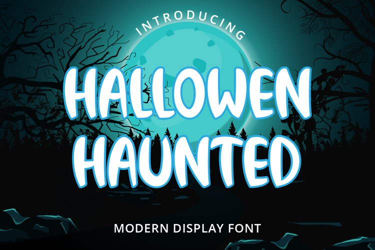 Hallowen Haunted example image 1