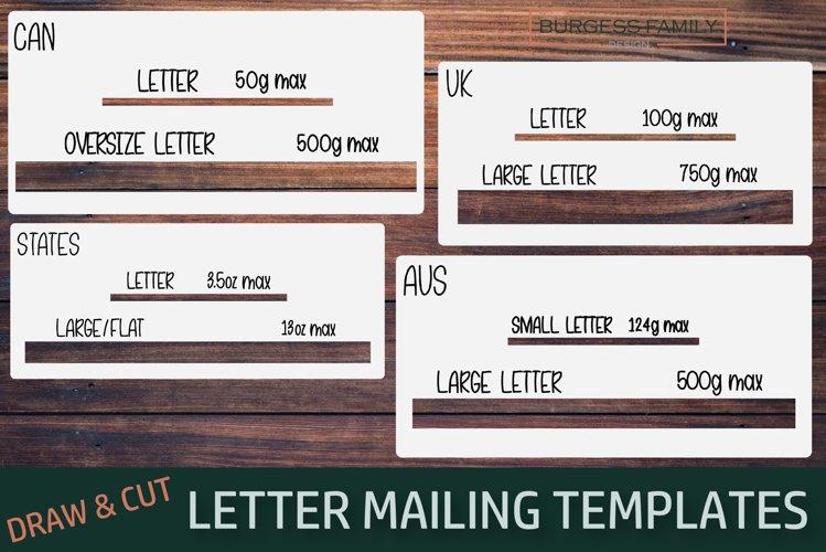 Letter mailing templates | Slot of doom