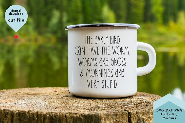 Funny Coffee Mug SVG