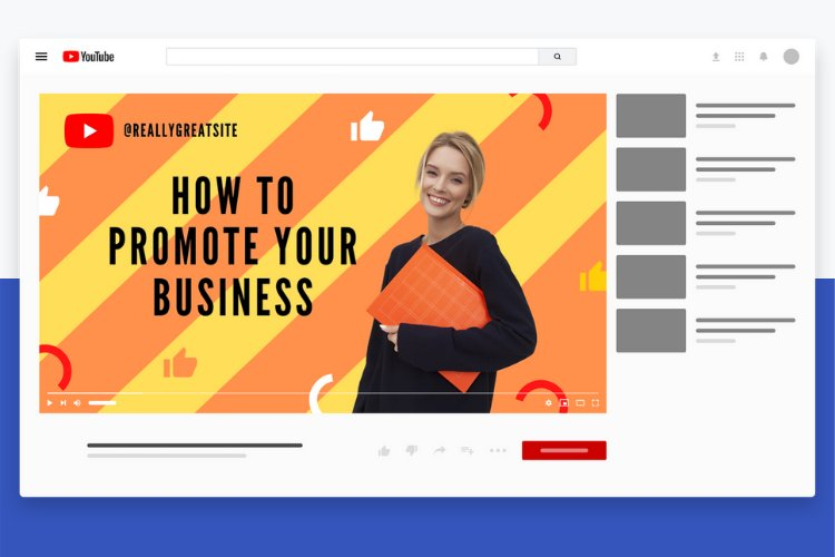 5 Grow Your Business YouTube Thumbnail Canva Templates example 1