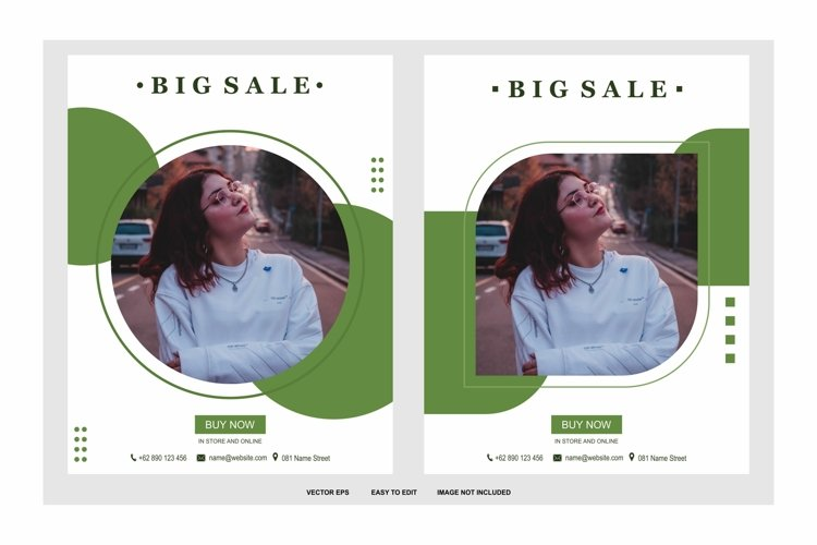big sale color green example image 1