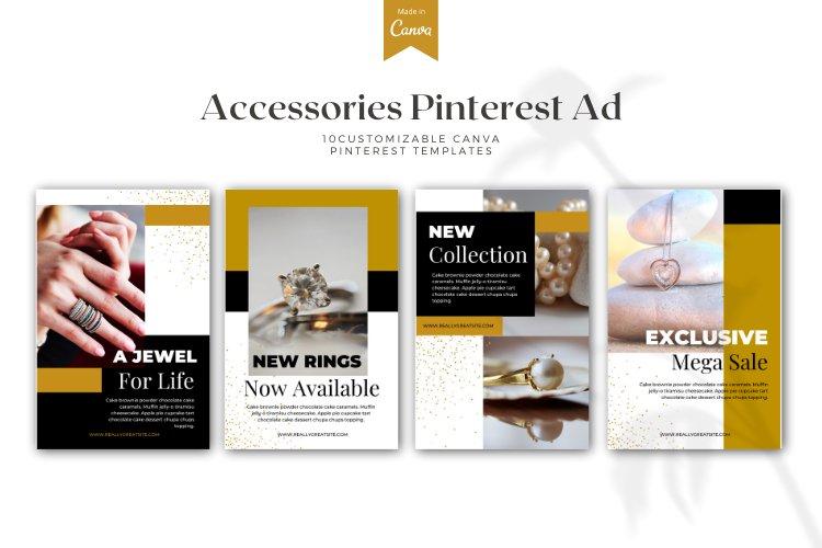 10 Customizable Pinterest Ads - Canva Templates example 2