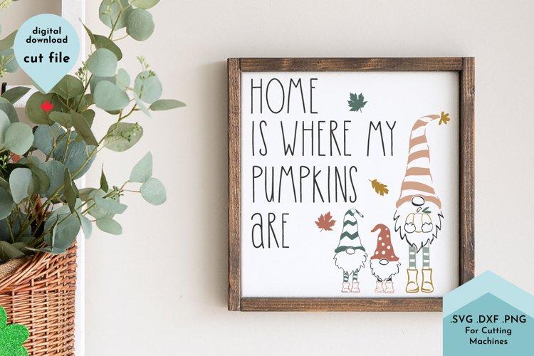 Fall Gnome, Home is Where my Pumpkins Are, Autumn, Cute Kids