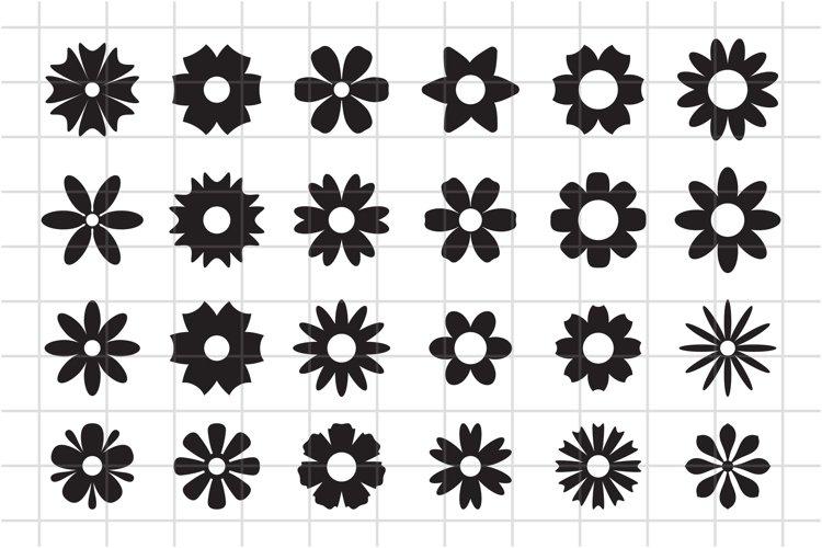 Flower Icon, Floral Element, Flower Blossom SVG Cut File