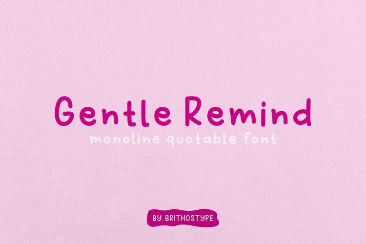 Gentle Remind example image 1