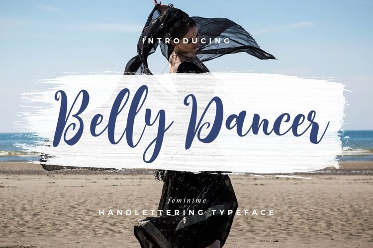 Web Font Belly Dancer