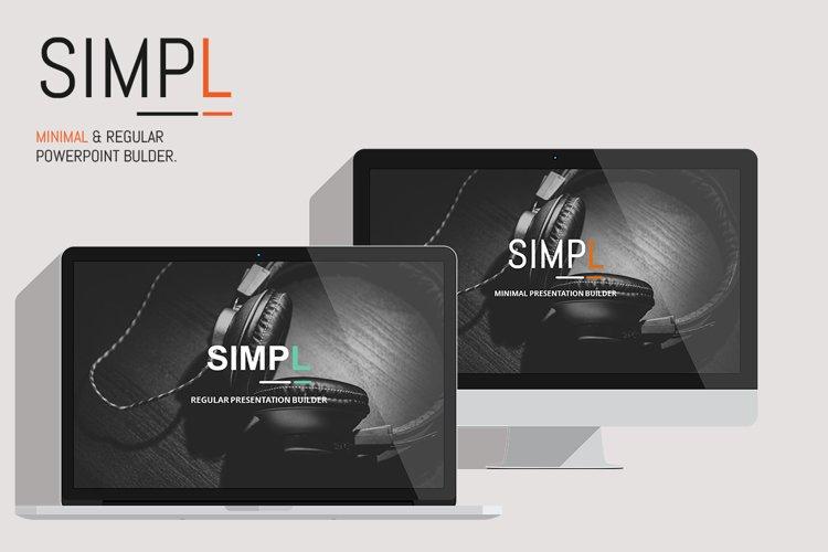 SIMPL Presentation Template example image 1