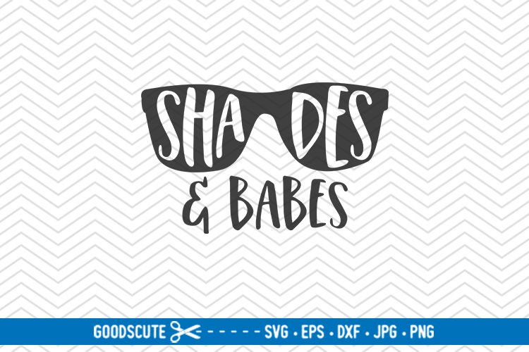 Shades and Babes - SVG DXF JPG PNG EPS example image 1