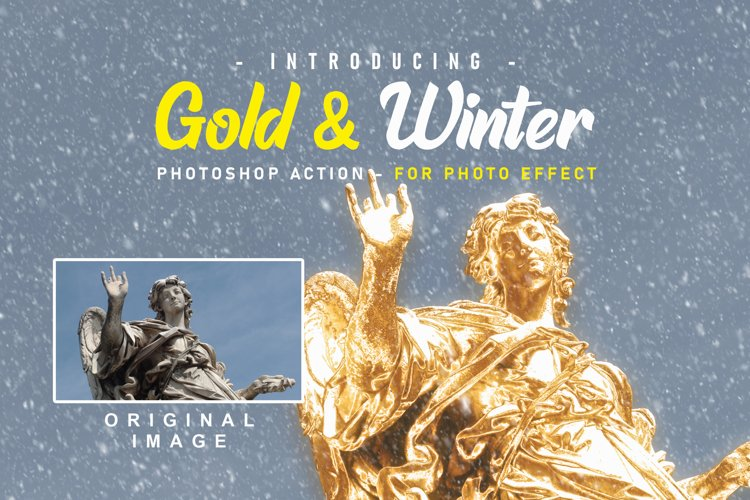 Gold And Snow Action Winter Series